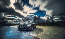 Geração de Honda Civic 9a sem restauro imagem de stock royalty free