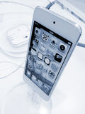Geração do toque de Apple IPod 5a Imagens de Stock