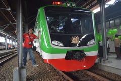 Geração 2 do trem de Inpeksi Fotografia de Stock Royalty Free
