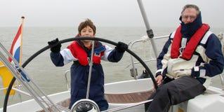 Gerações de marinheiros imagens de stock