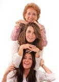 Gerações de mulheres Fotos de Stock Royalty Free