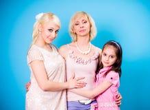 gerações de mulheres Foto de Stock Royalty Free
