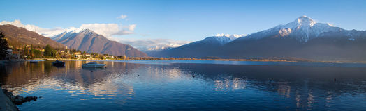 Gera Lario in a Winter Day, Lake Como District Stock Images