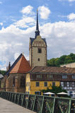 Gera. The old St.Mary Church in Gera Royalty Free Stock Photo