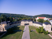 Gera Orangerie Summer aerial view architecture Royalty Free Stock Image