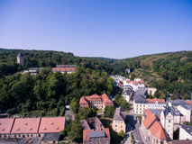 Gera untermhaus panorama bridge architecture summer Stock Images
