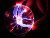 Geraakte het gebied van het plasma royalty-vrije stock afbeelding