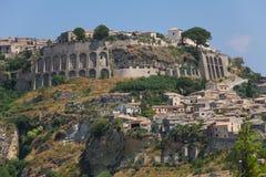 Gerace, Calabrië, Italië Stock Fotografie