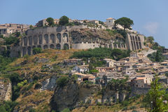 Gerace, Calabria, Italy. Gerace, a small town located quite close to the city of Reggio Calabria stock photography