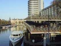 Gerade Amsterdam Lizenzfreie Stockfotos