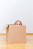 Gerade bewegt in ein neues Haus Lizenzfreie Stockfotografie