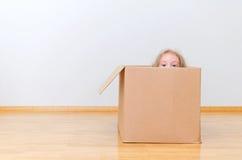Gerade bewegt in ein neues Haus Lizenzfreie Stockbilder