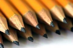 Gerade Bleistifte Lizenzfreies Stockbild