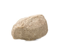 Gerade ein Felsen Stockfoto