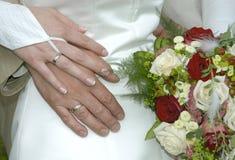 Gerade geheiratet Stockbilder