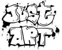 gerade Kunst Lizenzfreies Stockfoto