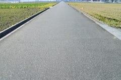 Gerade Straße Lizenzfreie Stockbilder
