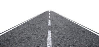Gerade Straße Lizenzfreies Stockfoto