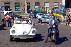 Gerade verheiratete italienische Art Lizenzfreies Stockfoto