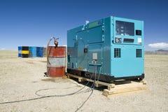 Gerador 02 do diesel Fotografia de Stock