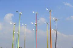 Gerador de energias eólicas Imagem de Stock Royalty Free