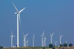 Gerador de poder da turbina eólica Foto de Stock Royalty Free