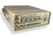 Gerador de sinal. imagem de stock