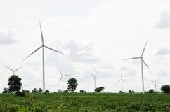 Gerador de turbina eólica Imagem de Stock