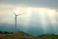 Gerador de vento Imagens de Stock Royalty Free