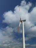 Gerador de vento elétrico fotos de stock