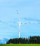 Gerador de vento na paisagem Imagem de Stock