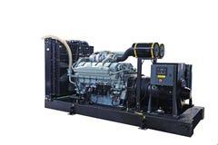 Gerador diesel imagens de stock