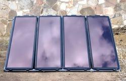 Gerador solar imagem de stock