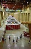 Geradores da represa de Hoover imagem de stock