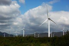 Geradores das energias eólicas Fotos de Stock