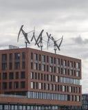 Geradores de vento Imagem de Stock