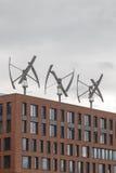 Geradores de vento Imagem de Stock Royalty Free