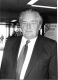 Geraint Howells. Liberal Democrat party Member of Parliament for Ceredigion & Pembroke North, visits the party conference in Brighton on September 14, 1989 Royalty Free Stock Images