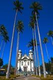 Gerais Brasile del Minas della chiesa del joao del rey del sao Fotografie Stock Libere da Diritti