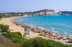 Gerakas beach on Zakynthos island, Greece Royalty Free Stock Photo