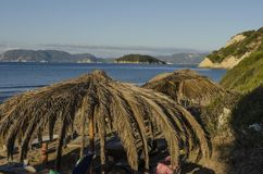 Gerakas plaża Zakynthos obrazy stock