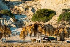 Gerakas plaża, Zakynthos obraz stock