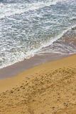 Gerakas plażowy denny żółw gniazduje miejsce zdjęcie stock