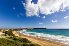 Gerakas plażowy denny żółw gniazduje miejsce fotografia stock