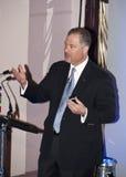 Gerald Parent, het Congres van Sleutels d'Or Stock Afbeelding