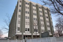 Gerald R Ford Federal Court Building. In Grand Rapids Michigan Stock Photography
