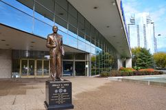 Gerald R. Ford Presidential Museum In Grand Rapids Stock Photos