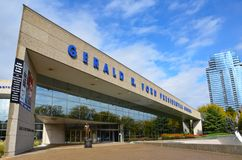 Gerald R. Ford Presidential Museum In Grand Rapids Royalty Free Stock Images