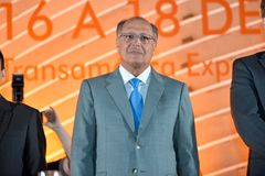 Geraldo Alckmin Stockfotos