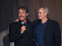 Geraldo and Oliver North Stock Images
